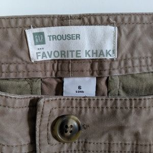 GAP Favorite Khaki Trouser (long)